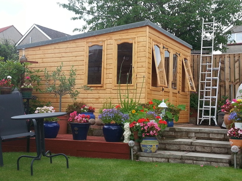 simply sheds scotland quality bespoke sheds in edinburgh scotland - Garden Sheds Edinburgh